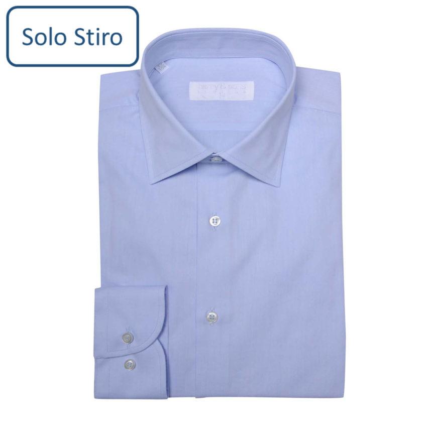 Camicia Solo Stiro (stampella o piegata)