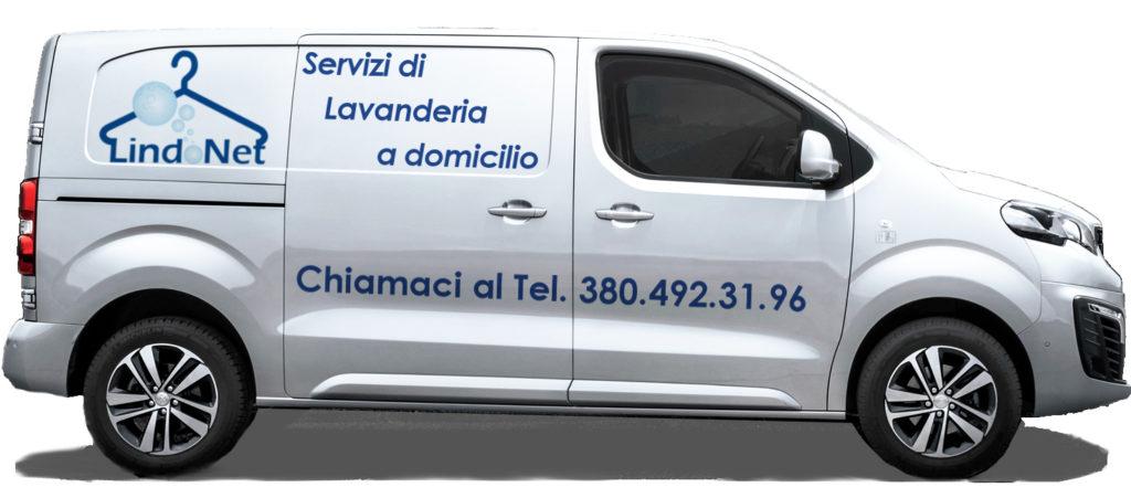 Camioncino Lindonet consegna a domicilio Roma